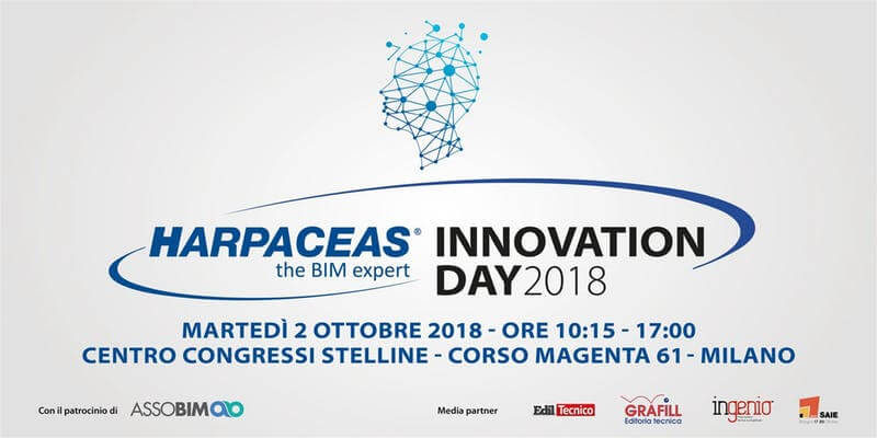 Innovation Day Harpaceas – Milano, 2 ottobre 2018